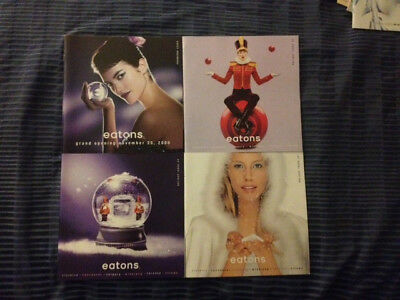 Eaton's/eatons 1992, 1994 & 2000 flyers/ads/catalogues - excellent condition