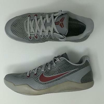7d3bc07a188 ... cheapest nike kobe xi 11 low lower merion cool grey team red wolf 836183  006 8e3b4