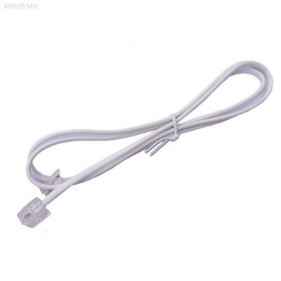 Broadband ADSL2+RJ11 Modem Internet Router Cable Line Lead Connector 1M Whi