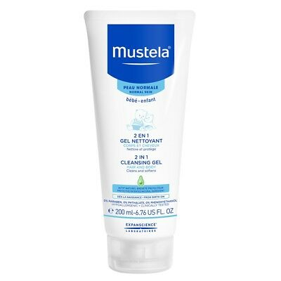 Mustela 2 in 1 Cleansing Gel (Hair and Body)