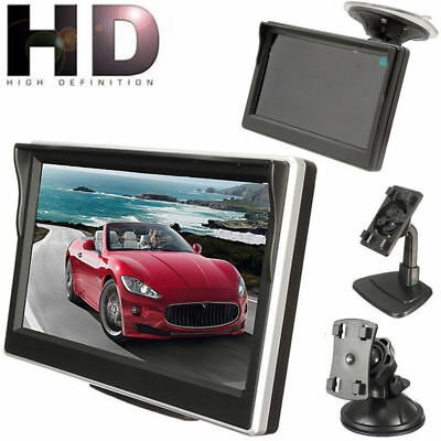 "5"" 800*480 TFT LCD HD Monitor Cam For Car Rear Reverse Rearview Backup Camera"