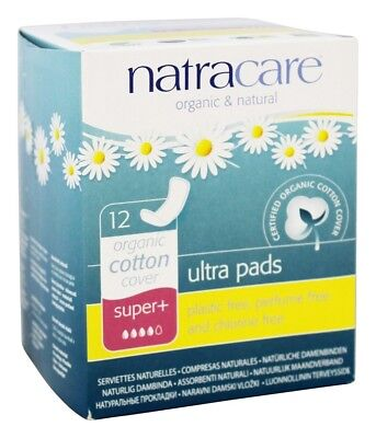 Natracare - Cotton Natural Feminine Ultra Pads Regular with Wings