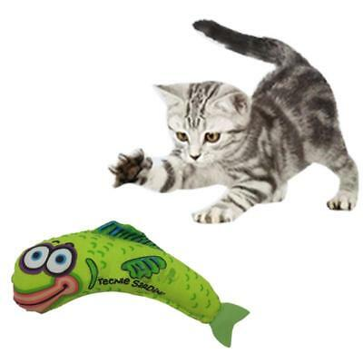 Pets Toys Supplies For Cat Kitty Hoots Catnip Fish Mouse Scratch Nylon Polyester
