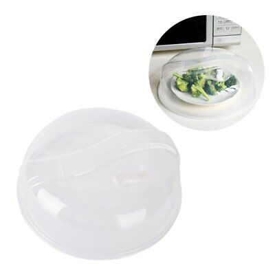 Microwave Lid Food Plate Dish Cover Clear Plastic Lids Vent Disc Kitchen Cooking