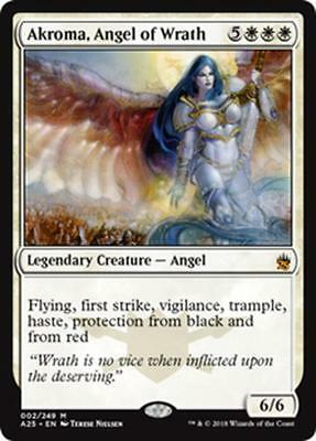 AKROMA, ANGELO DELLA DISTRUZIONE - AKROMA, ANGEL OF WRATH Magic A25 Mint