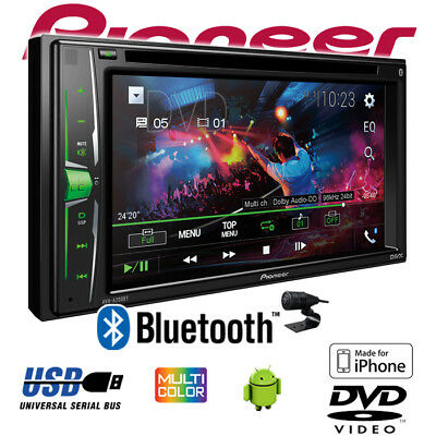 Pioneer AVH-A200BT - 2-DIN Bluetooth CD/DVD/MP3/USB Autoradio Auto KFZ PKW Radio