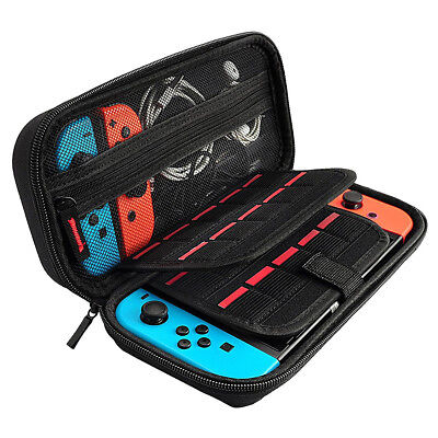 For Nintendo Switch Accessories Carry Case Hard Shell Portable Pouch Travel Bag