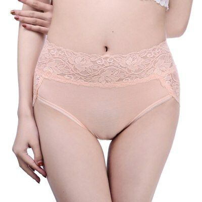 Briefs Womens Soft Cotton Underwear Modal Sexy Lace Waistband Lingerie Panties