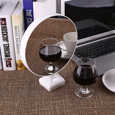 0D61 Glowing Mirror Magical LED Photo Frame DC5V Multifunction White Home Decor