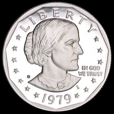 "1979 S Susan B Anthony Dollar US Mint Coin ""Brilliant Uncirculated"" SBA"