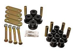 Energy Suspension Leaf Spring Bushing & Shackle Sets 4-2135G 64-73 Mustang