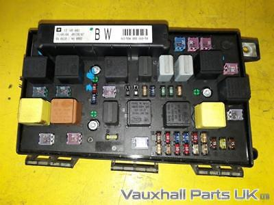 vauxhall astra mk5 h uec front fuse box fusebox relay 13145043 bw 57192