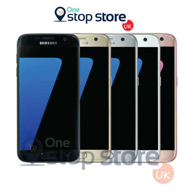 Samsung Galaxy S7 SM-G930F 32GB Black Gold Silver Unlock Android Smartphone - UK