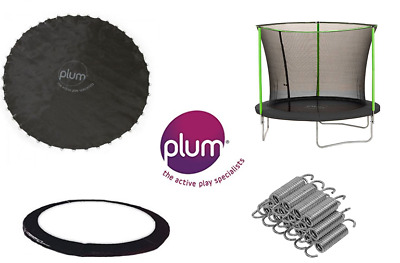 Replacement Plum Trampoline Spares 6ft 8ft 10ft 12ft Springs Jump Mat Padding
