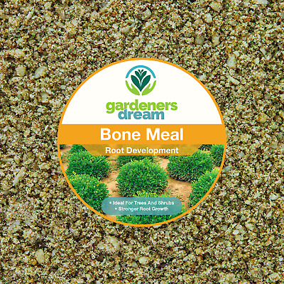 GardenersDream - BONE MEAL - ROOT DEVELOPMENT PLANT FOOD GARDEN FERTILISER