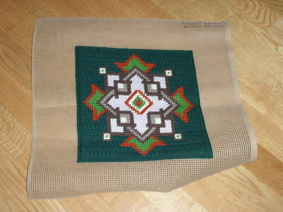 """CHUNKY COMPLETED SYLVANIE NEEDLEPOINT TAPESTRY  12"""" x 12"""""""