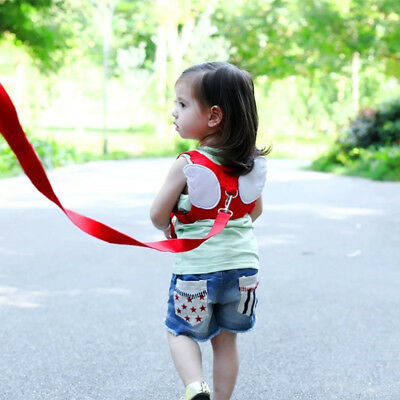 Baby Toddler Anti-lost Kids Safety Harness-Child Backpack Walking Reins Belt US
