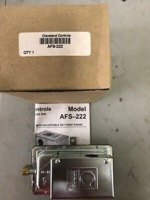 AFS Cleveland Controls Adjustable Air Pressure Sensing Switch AFS-222-112