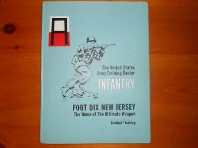 1968 Fort Dix yearbook Combat training Vietnam Infantry