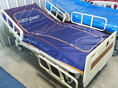 Hill Rom P1400 Hospital Bed with Gel Mattress