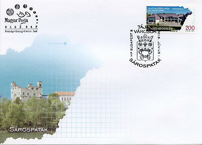 Hungary 2018 FDC Regions & Towns Sarospatak 1v Cover Tourism Architecture Stamps