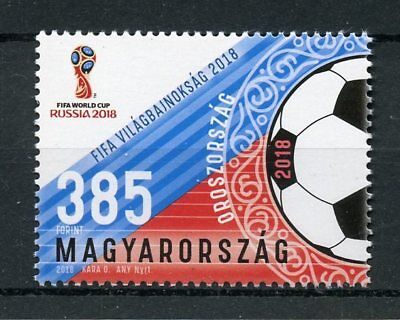 Hungary 2018 MNH FIFA World Cup Football Russia 2018 1v Soccer Sports Stamps