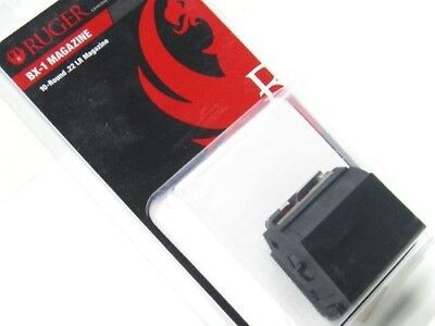 Ruger Black 10 Round Rotary MAG Magazine For Ruger 10/22 .22 LR Rifle 90005