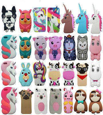 coque iphone 8 plus silicone animaux