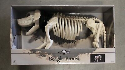 W80372 Crazy Bones Skeleton Dog Halloween Decoration
