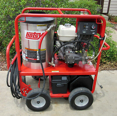 Demo Hotsy 1075sse Gas Engine Hot Water Pressure Washer (SN:164811) 1.110-012.0