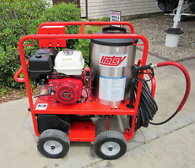 Demo Hotsy 1075sse Gas Engine Hot Water Pressure Washer (SN:165613) 1.110-012.0