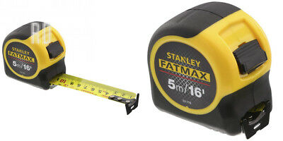 Stanley FATMAX Classic Tape with Blade Armor, 5 m/16 ft