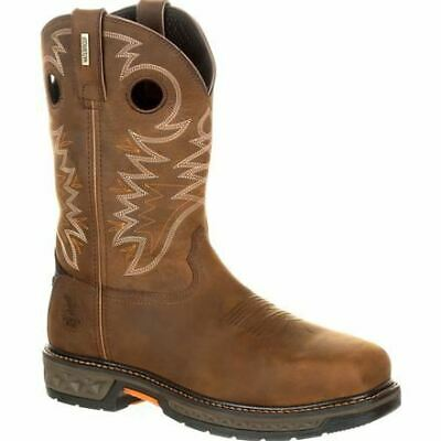 Georgia Carbo-Tec LT GB00224 Mens Brown Leather Alloy Toe Waterproof Boots