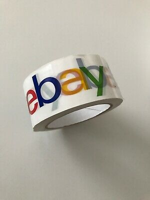 New eBay Branded Packaging Parcel Packing Tape 75 Yards - 48mm Wide - 2mm Thick