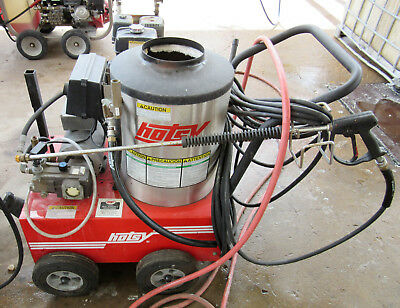Used Hotsy 555ss Electric Hot Water Pressure Washer SN:175622 (1.109-033.0)