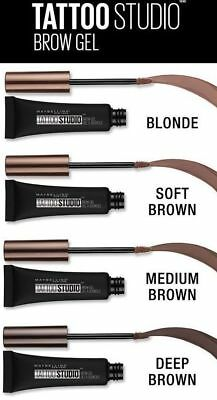 Maybelline Tattoo Studio Waterproof Brow Gel ~ Choose From 4 Shades!