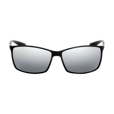 956a8ce85b NEW RAY BAN RB4179 Liteforce 601S82 Matte Black Sunglasses Mirror ...