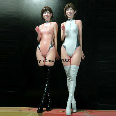 132MM 1/12 Unpainted Beauty Standing Girl Garage Kit Resin Figure Model Statue