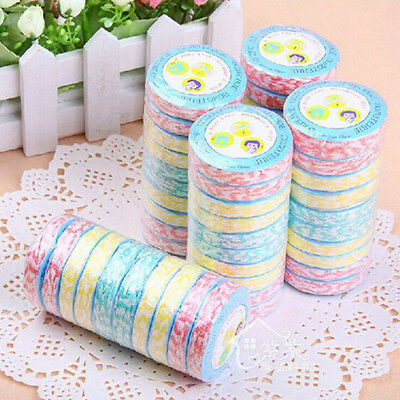 10X Compressed Disposable Travel Camp Magic Bath Towel Face Non Woven Washcloths
