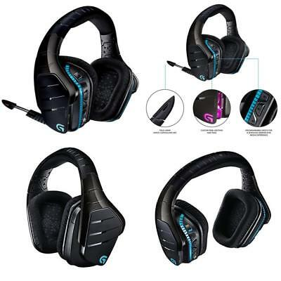 Wireless Gaming Headset 7.1 Dolby Surround Sound Headphones For Pc Ps4 Xbox One