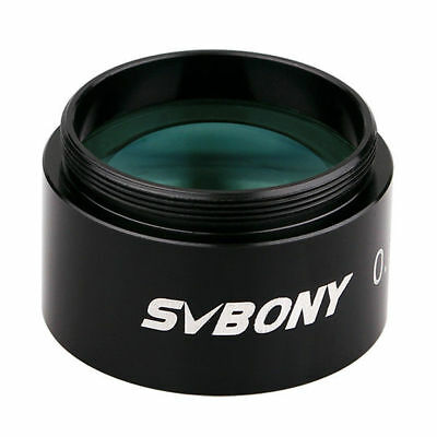"SVBONY 1.25"" FMC 0.5X Focal Reducer for Telescope Eyepiece Photography AU SHIP"