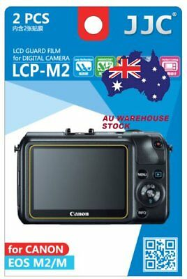 JJC LCP-M2 LCD Guard Film Camera Screen Protector for CANON EOS M2 EOS M _AU
