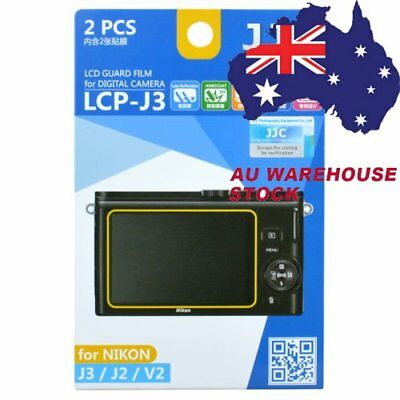 JJC LCP-J3 LCD Guard Film Camera Screen Display Protector for Nikon J3 J2 V2 _AU