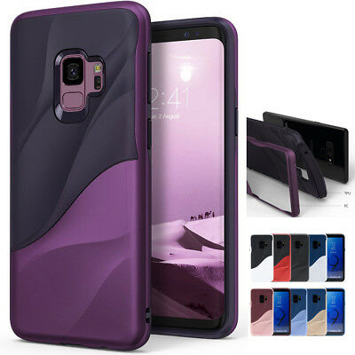 For Samsung Galaxy Note 8 S9 Plus A8 2018 Shockproof Dual Hybrid Soft Case Cover