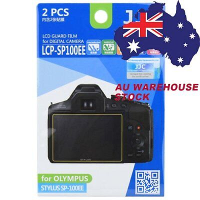 JJC LCP-SP100EE LCD Camera Screen Protector for OLYMPUS STYLUS SP-100EE _AU
