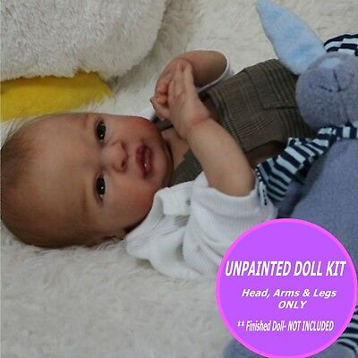 Reborn kit - Frankie made of soft vinyl make your own baby w/ FREE GIFT