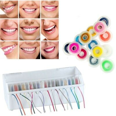 Dental Orthodontics Elastic Ultra Power Chains Rubber Spool Continuous Type New