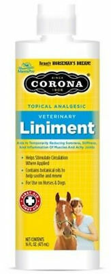 CORONA Liniment 16 oz Reduces Achy Joints Sore Muscles Stiffness Equine Horse
