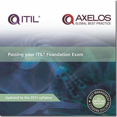 Passing Your ITIL Foundation Exam (UK IMPORT) BOOK NEW