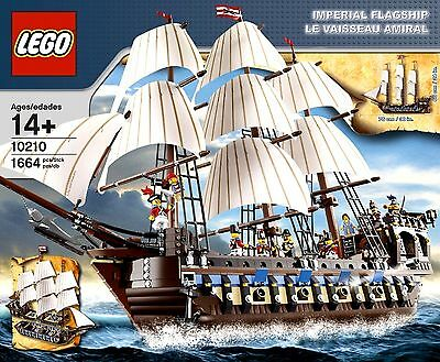 Lego 10210 Imperial Flagship W Box Instructions All Minifigs